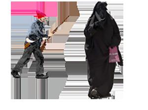 Niqabbed